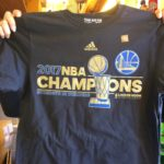 Golden State Warriors 2017 NBA Champions TShirt
