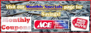 Click for Monthly Specials