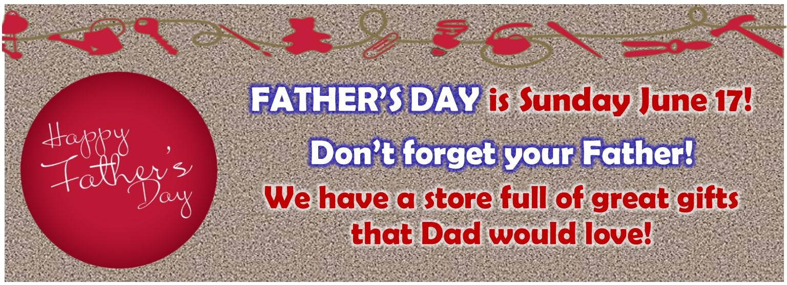 Father's Day is the Third Sunday of June