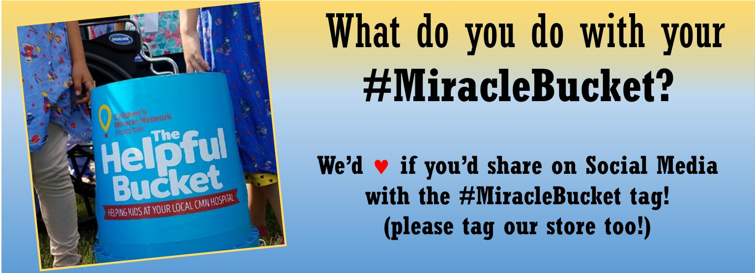 what will you do with your #MiracleBucket?