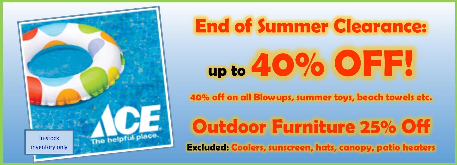 40% off Summer