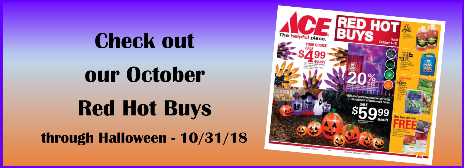 Oct Red Hot Buys
