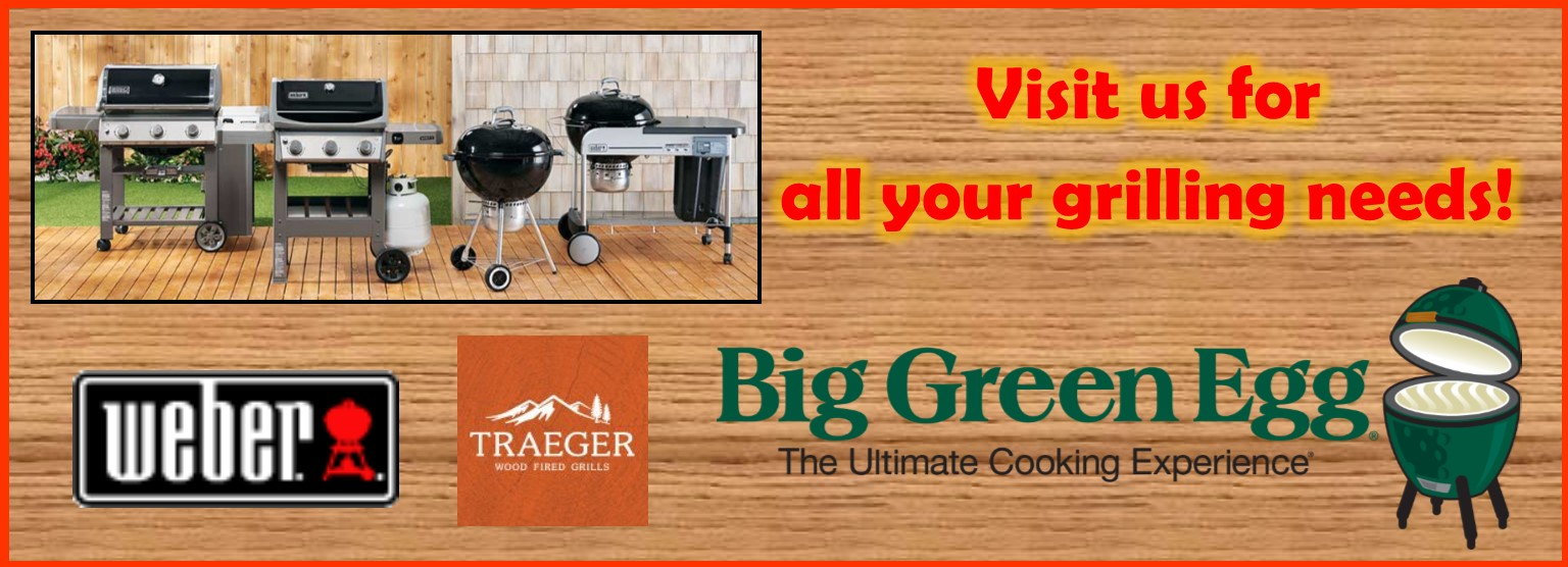 slider Weber Traeger Big Green Egg