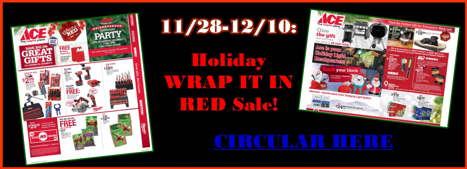 Wrap it in Red Sale