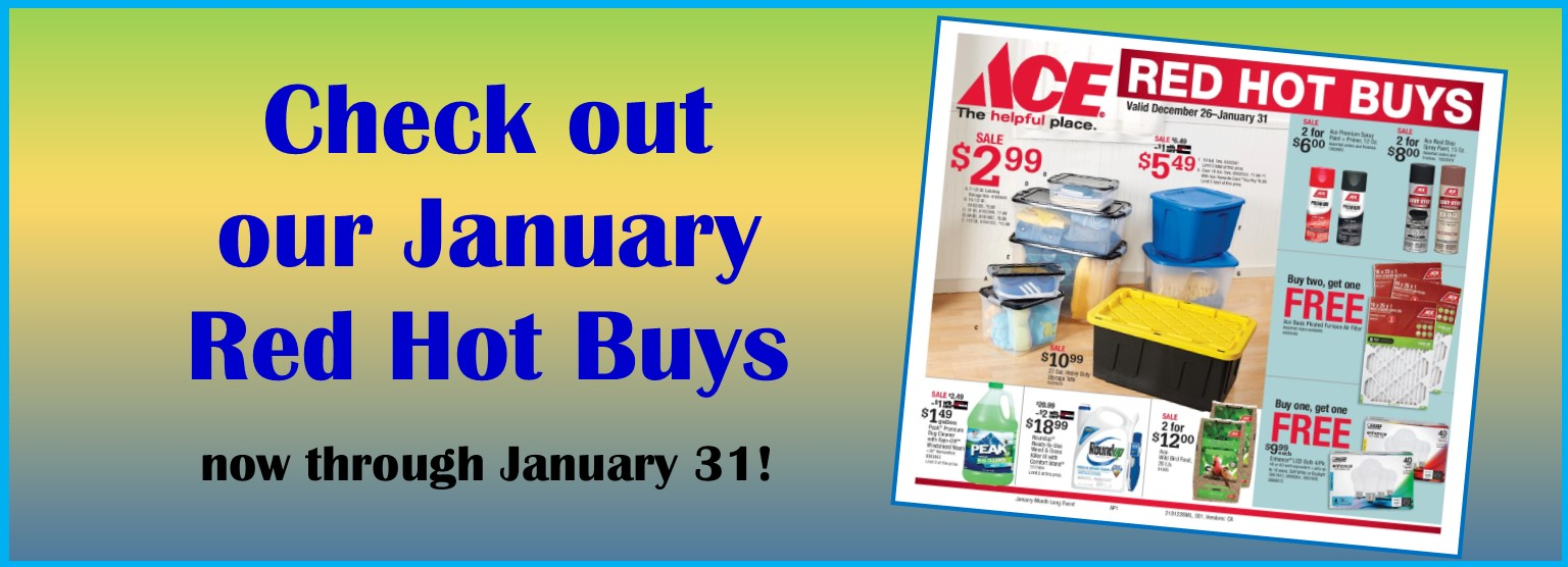 January Red Hot Buys