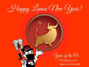 Lunar New Year - Ox