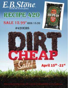 Dirt Cheap Recipe 420